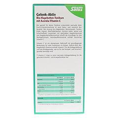 GELENK AKTIV Bio-Hagebutten-Tonikum Salus 500 Milliliter - Rückseite