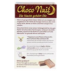 Choco Nuit Drink 10 Stück - Rückseite