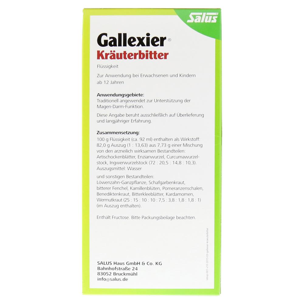 Gallexier Kräuterbitter Salus 500 Milliliter online bestellen ...