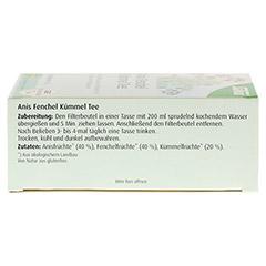 ANIS FENCHEL Kümmel Tee AFeKü Bio Salus Filterbtl. 15 Stück - Oberseite