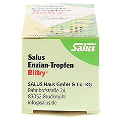Salus Enzian-Tropfen Bittry 50 Milliliter - Unterseite