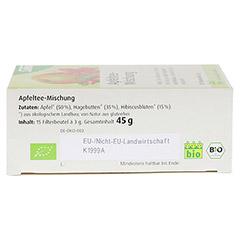 APFELTEE-Mischung Früchtetee Bio Salus Filterbeut. 15 Stück - Unterseite