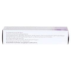 Dexpanthenol acis Wund- und Heilcreme 50mg/g 20 Gramm - Unterseite