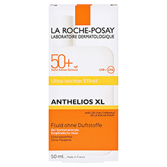 ROCHE-POSAY Anthelios XL LSF 50+ Fluid /R + gratis La Roche Posay Posthelios After-Sun 50 Milliliter - Vorderseite