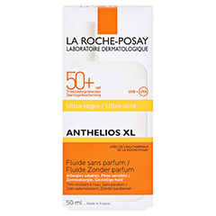 ROCHE-POSAY Anthelios XL LSF 50+ Fluid /R + gratis La Roche Posay Posthelios After-Sun 50 Milliliter - Rückseite