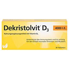 DEKRISTOLVIT D3 4.000 I.E. Tabletten 30 Stück - Vorderseite