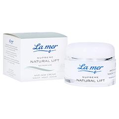 LA MER SUPREME Natural Lift Anti Age Cream Nacht ohne Parfüm 50 Milliliter