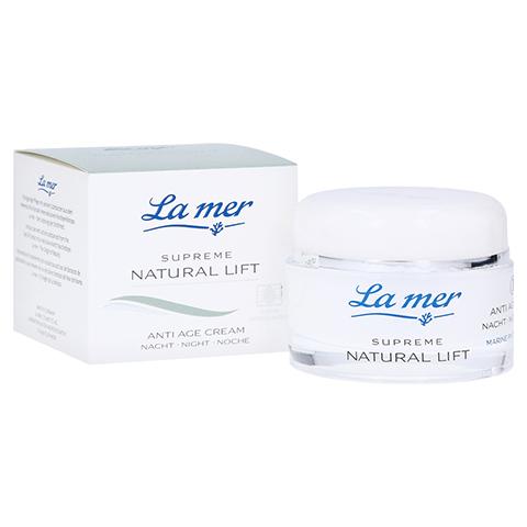 LA MER SUPREME Natural Lift Anti Age Cream Nacht 50 Milliliter