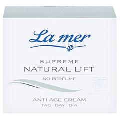 LA MER SUPREME Natural Lift Anti Age Cream Tag ohne Parfüm 50 Milliliter - Vorderseite