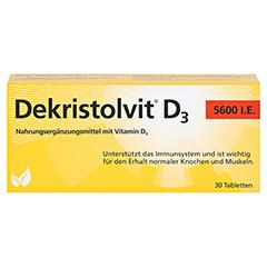 Dekristolvit D3 5.600 I.E. Tabletten 30 Stück - Vorderseite