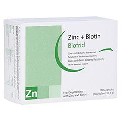 ZINK+BIOTIN Kapseln 100 Stück