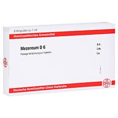 MEZEREUM D 6 Ampullen 8x1 Milliliter N1