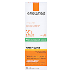 ROCHE-POSAY Anthelios Gel-Creme LSF 30 /R + gratis La Roche Posay Posthelios After-Sun 50 Milliliter - Rückseite