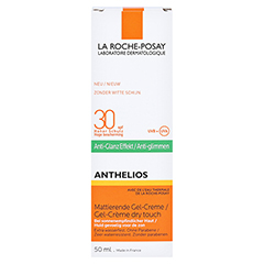 ROCHE-POSAY Anthelios Gel-Creme LSF 30 /R + gratis La Roche Posay Posthelios After-Sun 50 Milliliter - Vorderseite