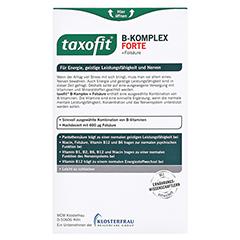 TAXOFIT B-Komplex Tabletten 40 Stück - Rückseite