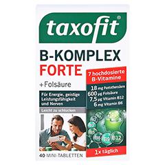 TAXOFIT B-Komplex Tabletten 40 Stück - Vorderseite
