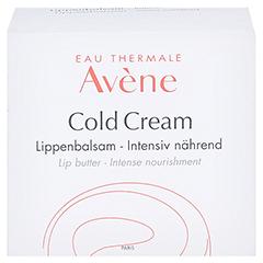 Avène Cold Cream Lippenbalsam 10 Milliliter - Rückseite