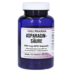 ASPARAGINSÄURE 500 mg GPH Kapseln 120 Stück