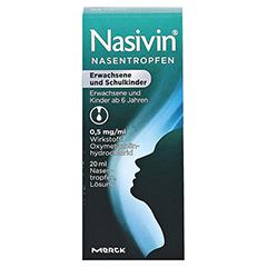 Nasivin Nasentropfen Erwachsene und Schulkinder 20 Milliliter N2 - Vorderseite