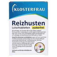 Klosterfrau Reizhusten Lutschtabletten 24 Stück - Rückseite