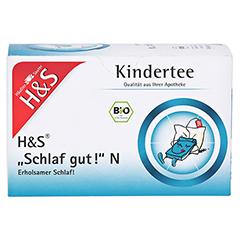 H&S Bio Kindertee Schlaf gut N Filterbeutel 20x1.0 Gramm - Vorderseite
