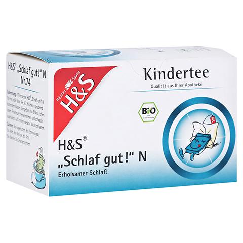 H&S Bio Kindertee Schlaf gut N Filterbeutel 20x1.0 Gramm