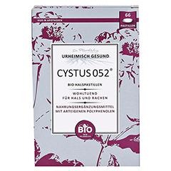 Dr. Pandalis Cystus 052 Bio Halspastillen 66 Stück - Vorderseite