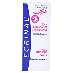 ECRINAL Nagelpflege Wachstum & Stärkung Creme 10 Milliliter - Rückseite