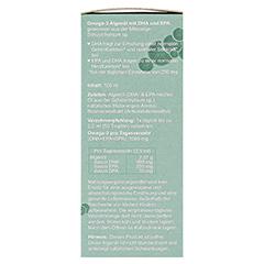 Omega-3 Algenöl DHA 300 mg+EPA 150 mg 100 Milliliter - Linke Seite