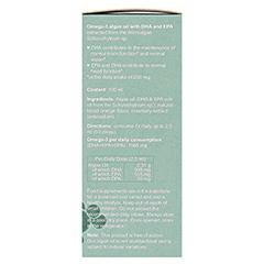 Omega-3 Algenöl DHA 300 mg+EPA 150 mg 100 Milliliter - Rechte Seite