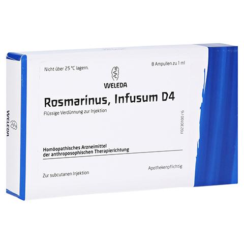 ROSMARINUS D 4 Ampullen 8x1 Milliliter N1