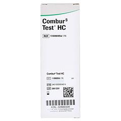COMBUR 5 Test HC Teststreifen 10 Stück - Rechte Seite