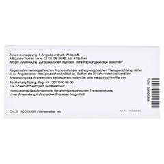 ARTICULATIO humeri GL D 8 Ampullen 10x1 Milliliter N1 - Rückseite