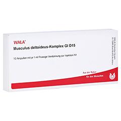 MUSCULUS DELTOIDEUS Komplex GL D 15 Ampullen 10x1 Milliliter N1