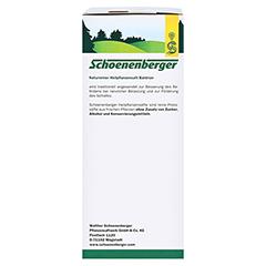 Baldrian naturreiner Heilpflanzensaft Schoenenberger 3x200 Milliliter - Linke Seite