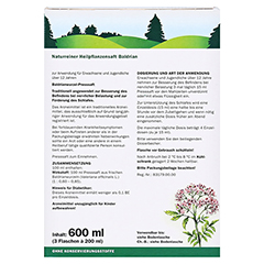 Baldrian naturreiner Heilpflanzensaft Schoenenberger 3x200 Milliliter - Rückseite