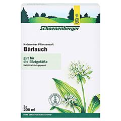 BÄRLAUCH SAFT Schoenenberger Heilpflanzensäfte 3x200 Milliliter - Vorderseite