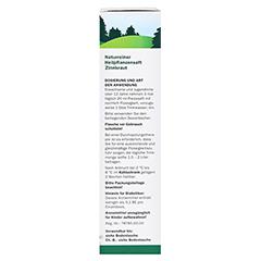 Zinnkraut naturreiner Heilpflanzensaft Schoenenberger 200 Milliliter - Linke Seite