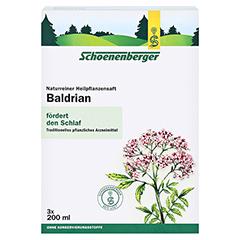 Baldrian naturreiner Heilpflanzensaft Schoenenberger 3x200 Milliliter - Vorderseite