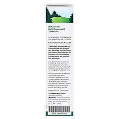 Zinnkraut naturreiner Heilpflanzensaft Schoenenberger 200 Milliliter - Rechte Seite