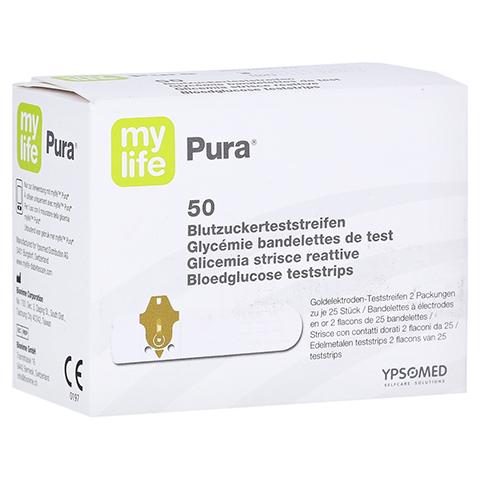 MYLIFE Pura Blutzucker Teststreifen 50 Stück