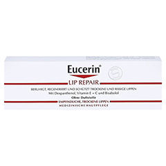 EUCERIN pH5 Lip Repair Creme 10 Gramm - Vorderseite