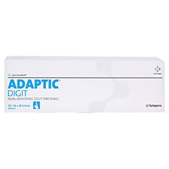 ADAPTIC DIGIT Fingerverband 2,4 cm medium 10 Stück - Vorderseite
