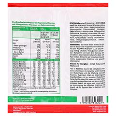 Eiweiss 100 Erdbeer Megamax Pulver 30 Gramm - Rückseite