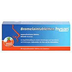 Bromelaintabletten hysan 50 Stück N2 - Vorderseite