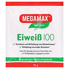 Eiweiss 100 Banane Megamax Pulver 30 Gramm