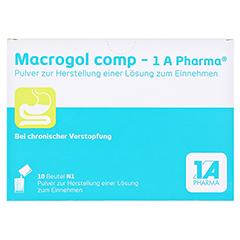 MACROGOL comp-1A Pharma Plv.z.Her.e.Lsg.z.Einn. 10 Stück N1 - Vorderseite