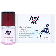 FREI ÖL Anti-Age Hyaluron Lift AugenCreme + gratis FREI HautpflegeÖlbad-Sachets 2 x 20 ml 15 Milliliter
