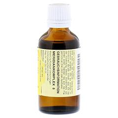 MERIDIANKOMPLEX 5 Tropfen zum Einnehmen 50 Milliliter N1 - Rückseite