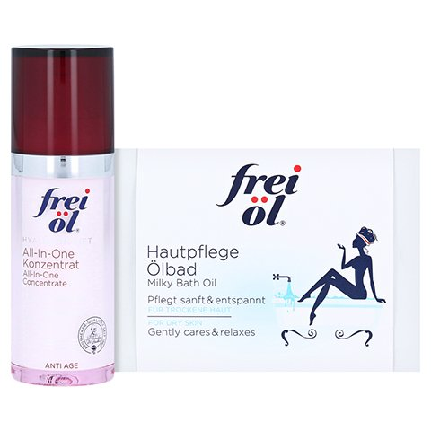 FREI ÖL Anti-Age Hyaluron Lift all-in-one Konz. + gratis FREI HautpflegeÖlbad-Sachets 2 x 20 ml 30 Milliliter